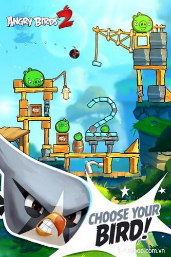 Angry Birds 2 được thêm vào một số nhân vật, nâng cấp về độ khó