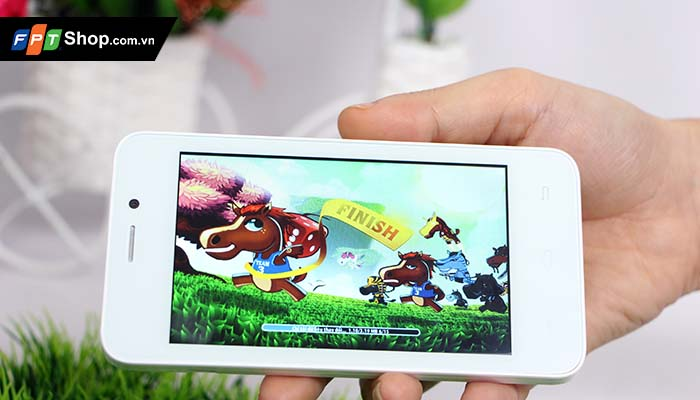 Smartphone  Mobiistar Touch Bean 402C (giá 990 nghìn đồng)
