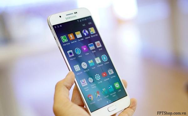 Đập hộp Samsung Galaxy A8