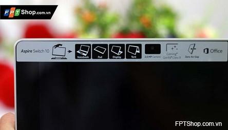 Thỏa sức chụp selfie với Acer Aspire Switch 10