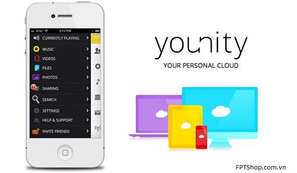 Truy cập dữ liệu từ máy tính đơn giản trên iPhone, iPad với ứng dụng Younity