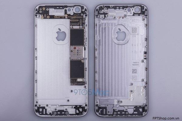 Ngôn ngữ thiết kế tương đồng iPhone 6