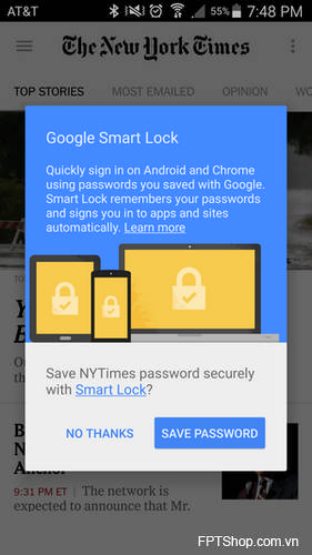 Smart Lock của Google