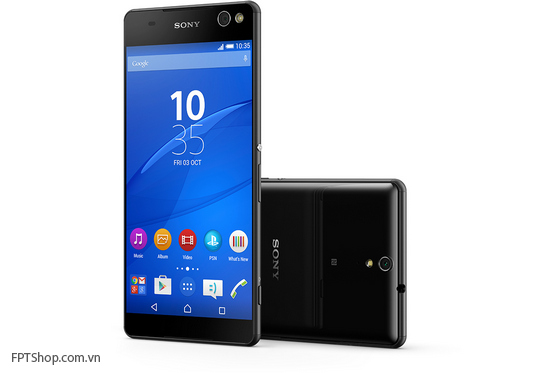 Thiết kế Sony Xperia C5 Ultra