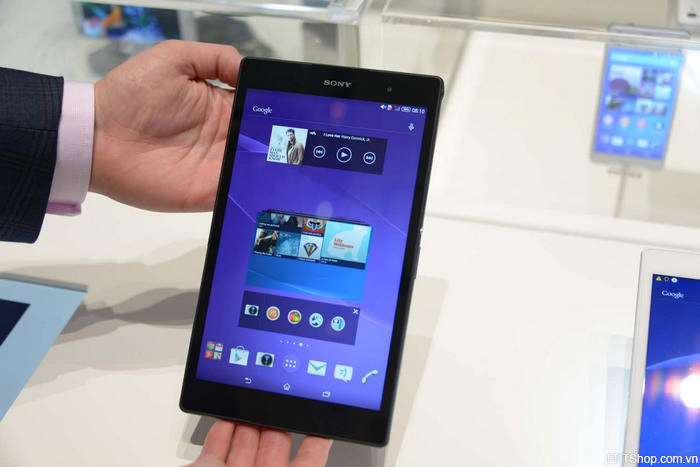 Camera của Xperia Z4 Tablet