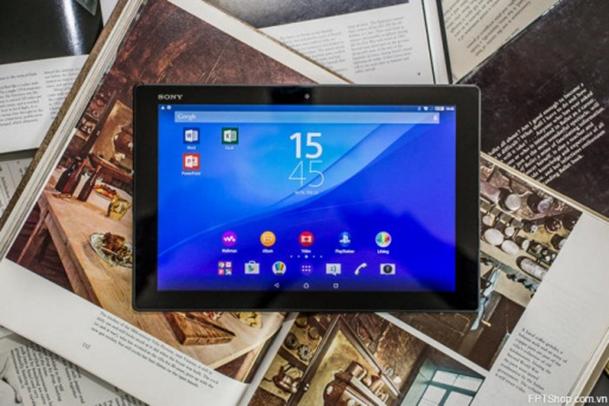 Thời lượng pin Xperia Z4 Tablet