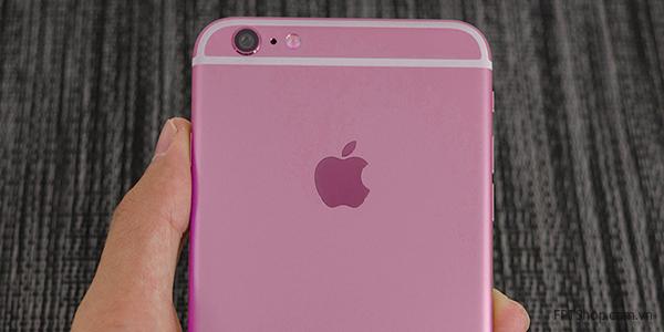 Hình ảnh iPhone 6s màu hồng tràn ngập các trang công nghệ và xã hội
