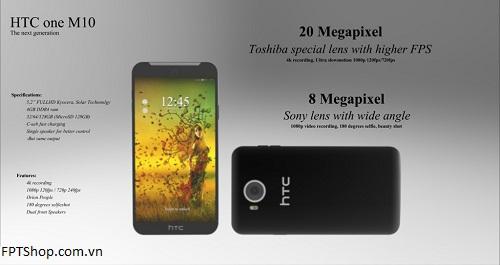 Giá và ngày ra mắt dự kiến của HTC One M10-2