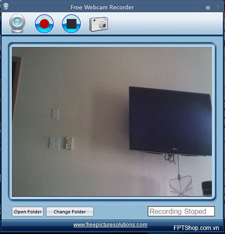 9. Free Webcam Recorder