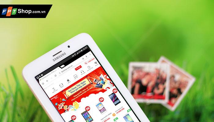 Galaxy Tab 3V mang hiệu năng xử lý vượt trội với lõi tứ Quad-core