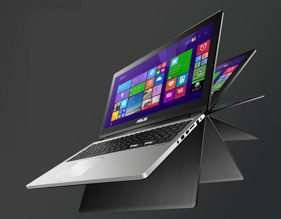 Asus Transformer Book TP550LA thiet ke