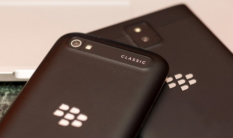 blackberry classic camera