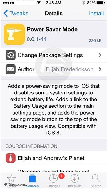 cài đặt Power saver mode trên iphone