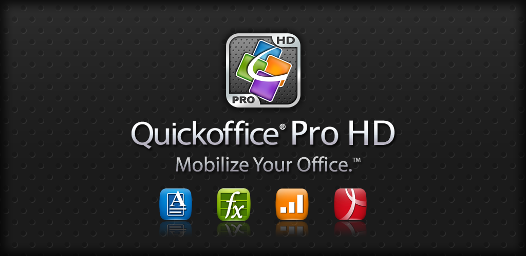 Quickoffice HD Pro