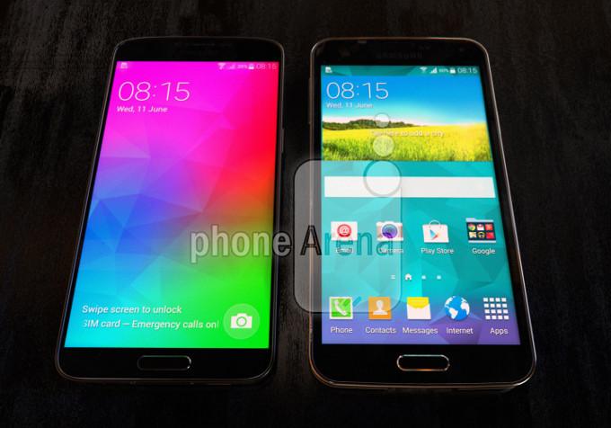 Galaxy F với khả năng hiển thị tốt hơn Galaxy S5