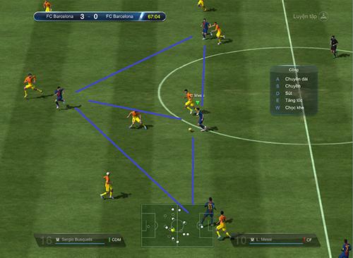 Fifa Online 3 Tiki Taka