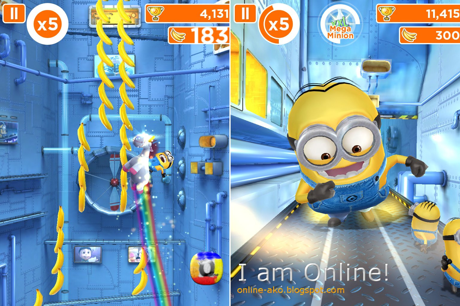 game Despicable Me trên iPhone 4s