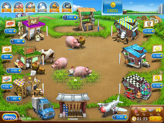3. Farm Frenzy ( 2, 99 USD )
