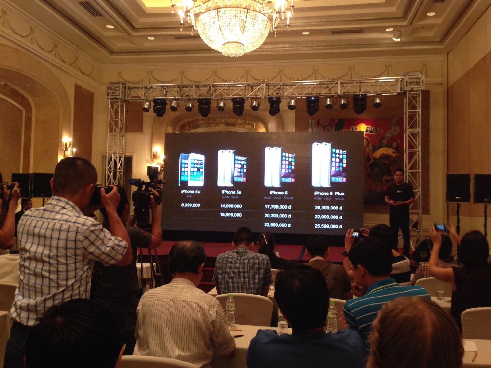 Giới thiệu iPhone 6 tại Việt Nam