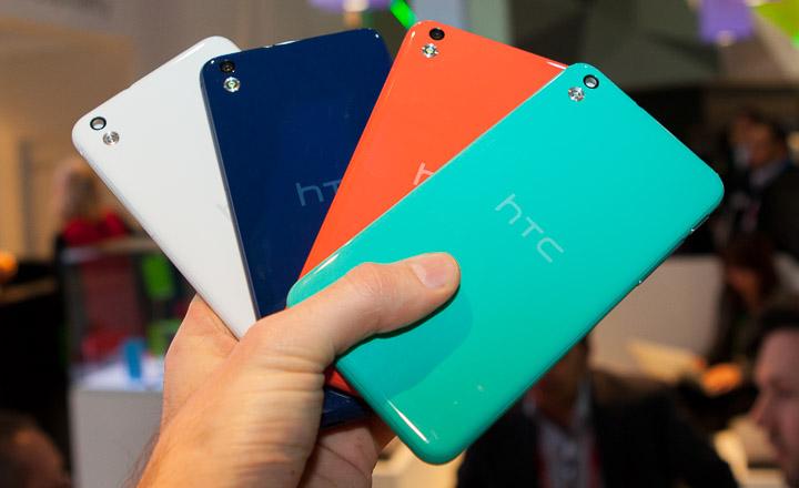 HTC Desire 816 với 4 màu sắc