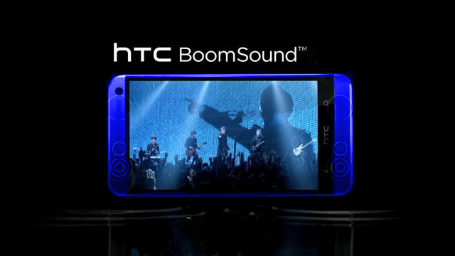 htc one blue boumsound