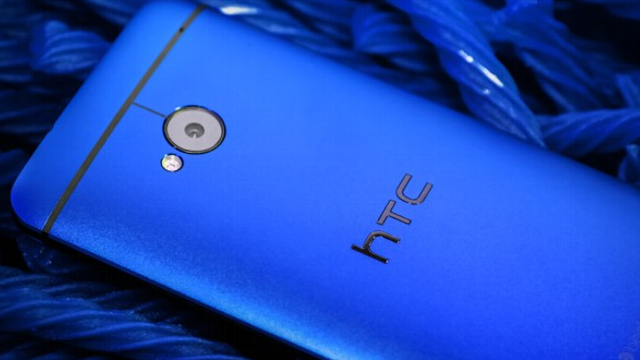 htc one blue camera