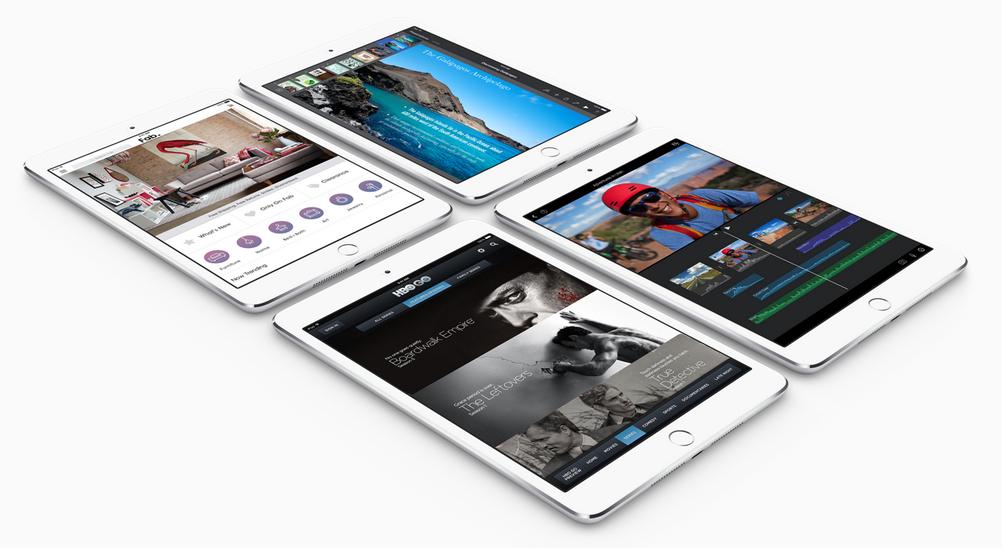 Tận hưởng mọi thứ trên iPad Mini 3 16 GB 4G màn hình Retina 7,9 inch sắc nét