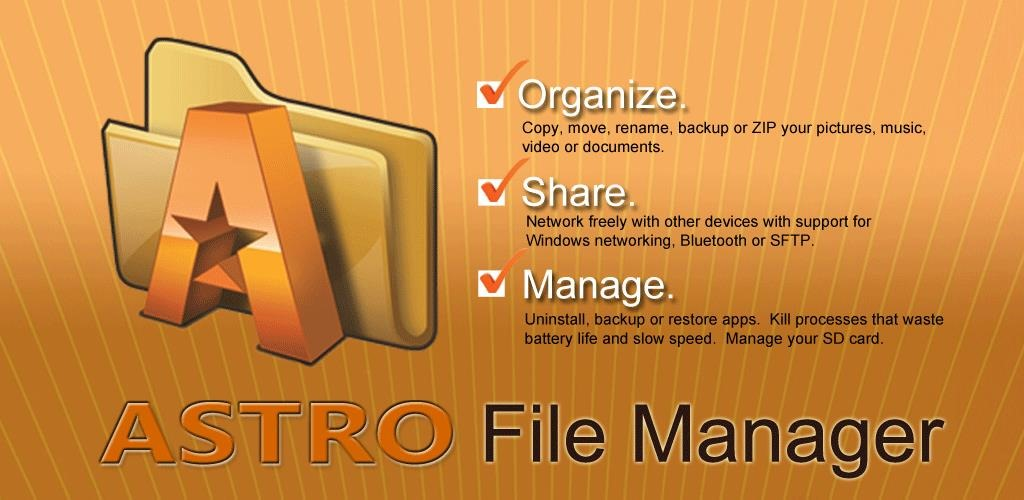 Ứng dụng Astro File Manager