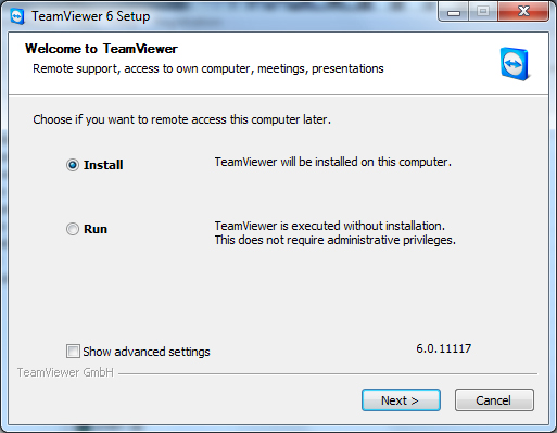 Cài đtặ Team Viewer