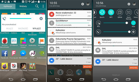 LG G3 chạy Android 5.0 Lollipop