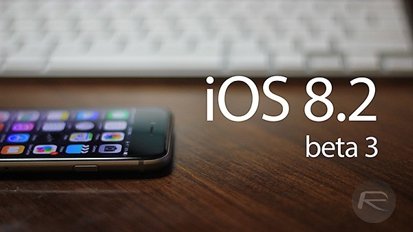 Apple ra mắt bản iOS 8.2 Beta 3