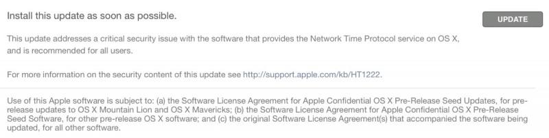Apple ra mắt bản cập nhật bảo mật dành cho người dùng sử dụng Mac OS X