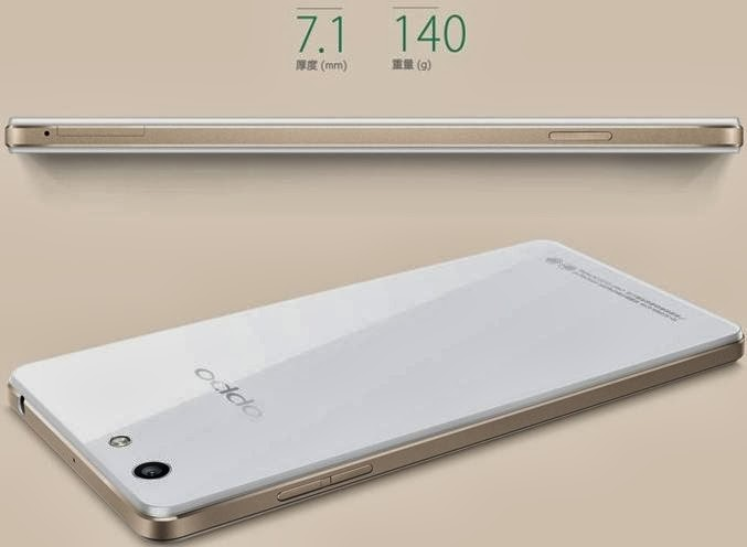 thiết kế của Oppo Find R1