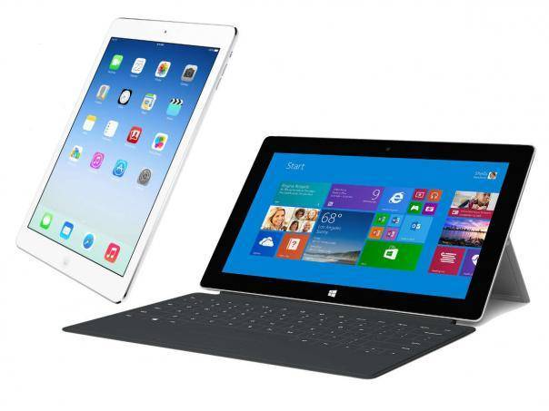 Surface Pro 3 vs iPad Air 2