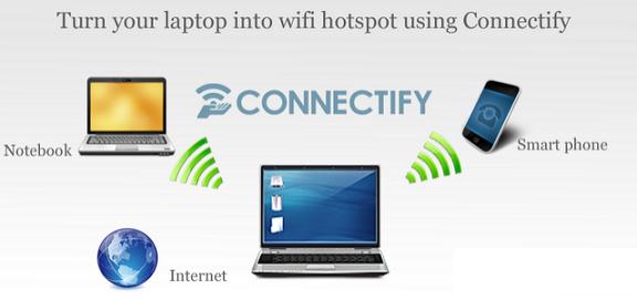Ứng dụng phát wifi win 7