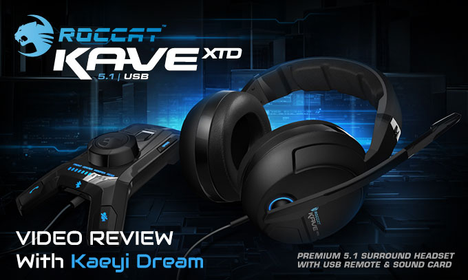 tai nghe Roccat Kave XTD 5.1