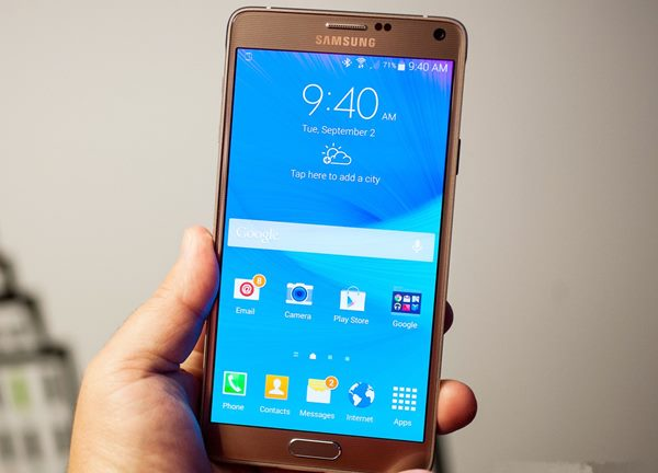 Samsusng Galaxy Note 4