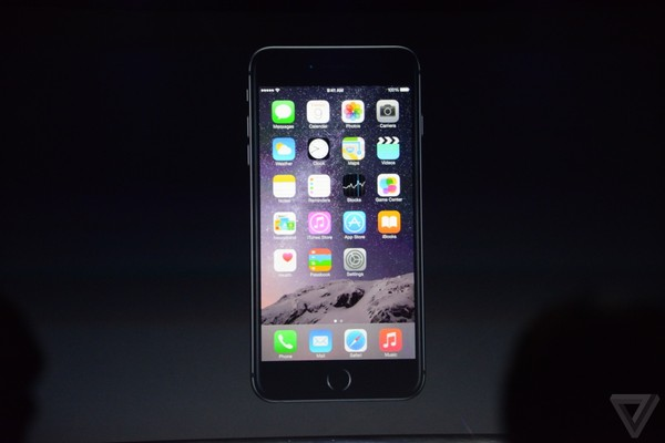 iOS 8 trên iPhone 6