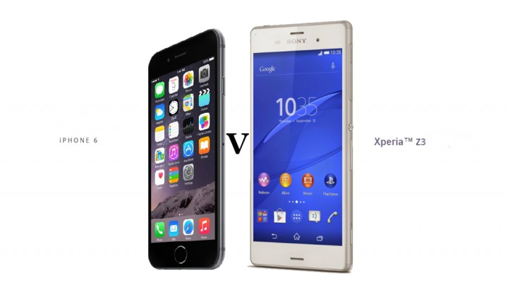 iPhone 6 và Sony Xperia Z3