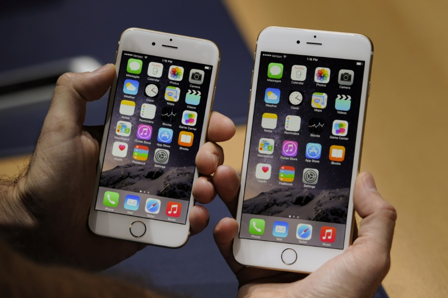 Giao diện iPhone 6 và iPhone 6 Plus