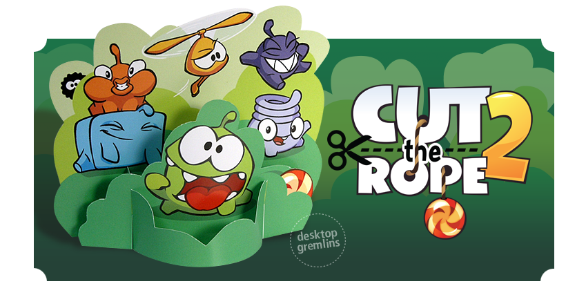 game Cup The Rope 2 HD