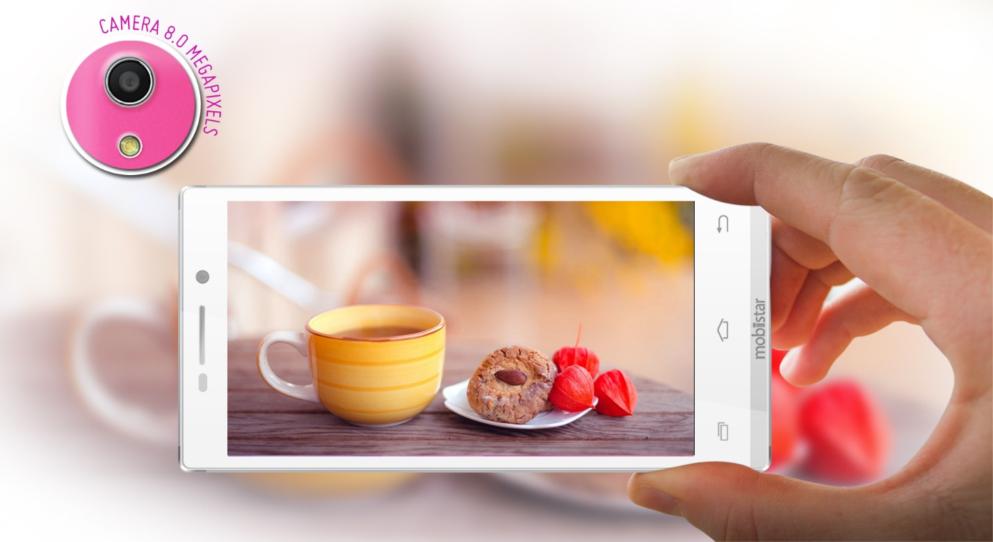 camera của Mobiistar Touch Lai 504C