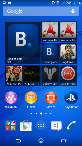 Sony Xperia Z3 Compact với Android KitKat 4.4.4