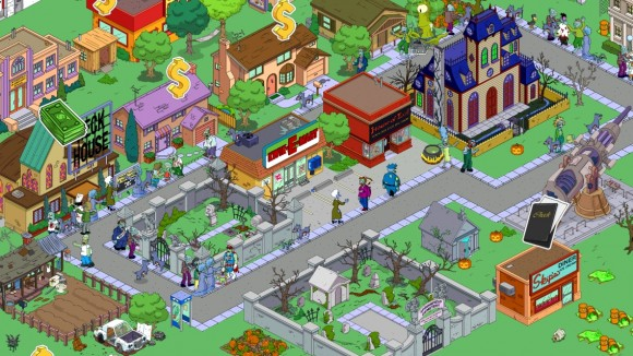 game The Simpsons Tapped Out