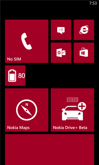 Ứng dụng Battery Level for Windows Phone