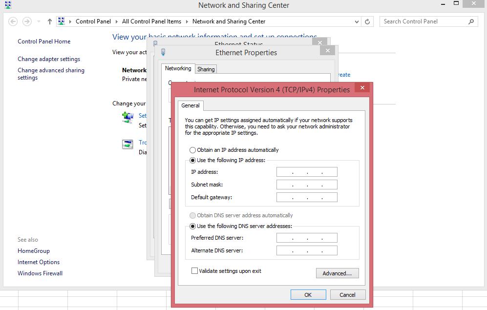 khắc phục lỗi trùng IP