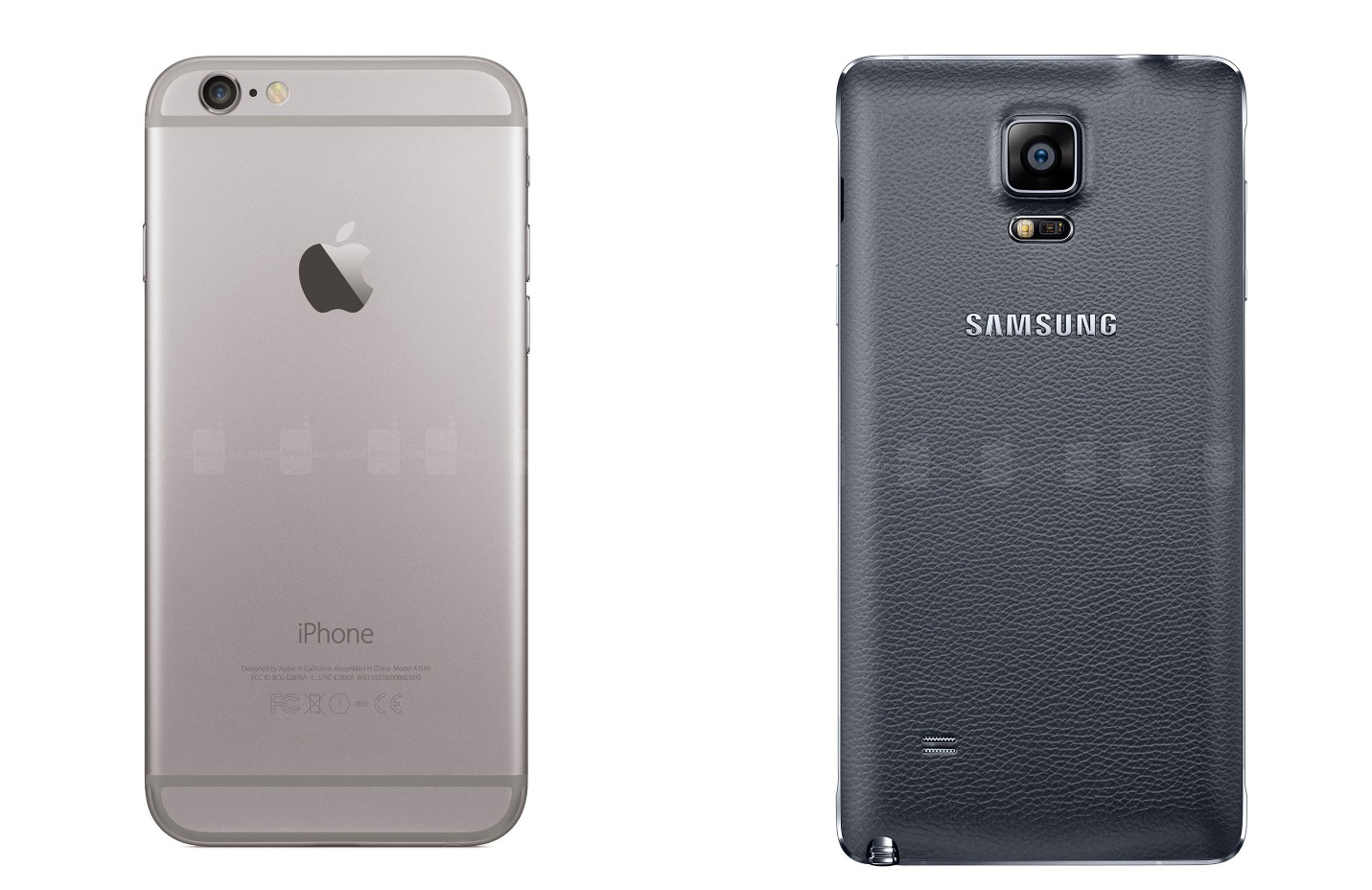 iPhone 6 và Galaxy Note 4