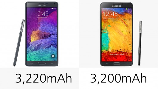 Galaxy note 4 và galaxy note 3