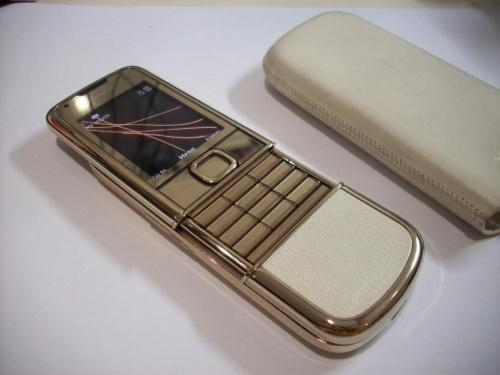 thiết kế Nokia 8800 Gold