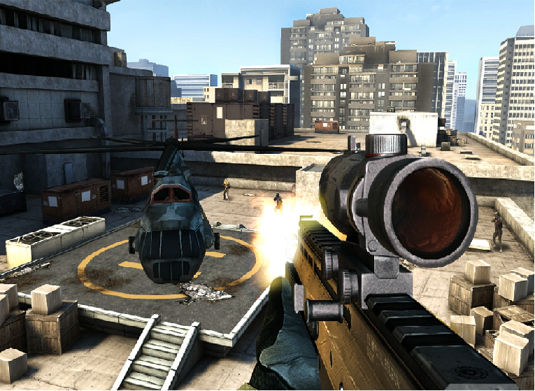 game Modern Combat 3: Modern Nation
